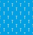 reflex hammer pattern seamless blue vector image vector image