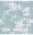 seamless pattern with hand-drawn ink vector image vector image