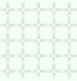 seamless pattern with square elements vector image vector image