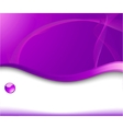 violet background for advertising vector image vector image