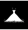Wedding dress vector | Price: 1 Credit (USD $1)