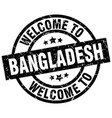 welcome to bangladesh black stamp vector image vector image