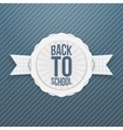 Back to School Holiday Tag vector image