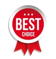 Best Choice badge vector image vector image