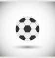 football ball icon vector image vector image