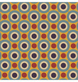 Geometrical pattern in retro colors vector | Price: 1 Credit (USD $1)