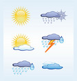 Icons for weather vector | Price: 1 Credit (USD $1)