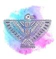 Native American eagle vector image vector image