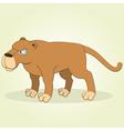 Puma vector image vector image