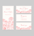 collection of elegant templates for flyer save vector image