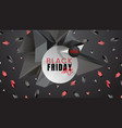 Black friday sale abstract dark background with