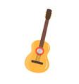 classic cuban guitar flat vector image