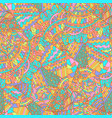 geometric pattern with pastel colors ethnic vector image vector image