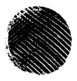 grunge circle stamp vector image vector image