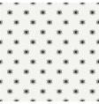 Hand drawn seamless pattern with open and close vector image vector image