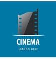 logo cinema vector image vector image