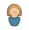 people commoner woman icon image vector image