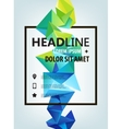 Poster Banner Flyer Cover Brochure vector image vector image