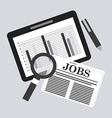 search job vector image