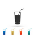 soft drink icon isolated on white background vector image vector image