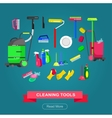 Poster design for cleaning service vector image