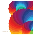 Abstract background with spectrum wheels vector image
