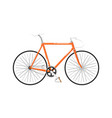 highway cruiser bicycle isolated icon vector image