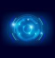 abstract hud technology background 004 vector image
