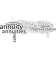 annuities for retirees what to consider before vector image vector image