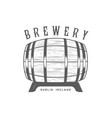 brewery logotype vector image