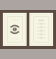 coffee menu design template flyer for cafe vector image vector image