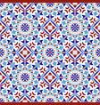 colorful pattern turkish style vector image vector image