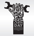 Labor Day Conceptual EPS10 vector image