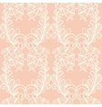 Lace seamless pattern with elements flowers vector image vector image