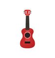 pink ukulele hawaian national musical instrument vector image vector image
