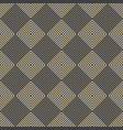 rhombus seamless pattern vector image vector image