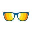 Sunglasses flat icon vector image vector image