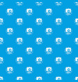 1984 photo camera pattern seamless blue vector image vector image