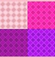 abstract repeating pattern set - square vector image vector image