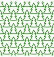 christmas fir tree green art seamless pattern vector image vector image