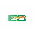 EQ Logo vector image vector image