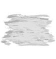 gray brushstrokes banner vector image