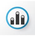 pedestal icon symbol premium quality isolated vector image vector image