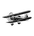 vintage air plane vector image