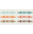2015 Simple vector image vector image