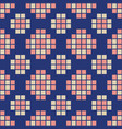 abstract seamless pattern of squares vector image
