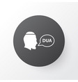 beg icon symbol premium quality isolated dua vector image vector image