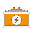 car battery isolated vector image vector image