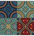 collection four colorful tribal ethnic seamless vector image vector image