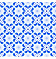 cute tile pattern colorful decorative floral vector image vector image